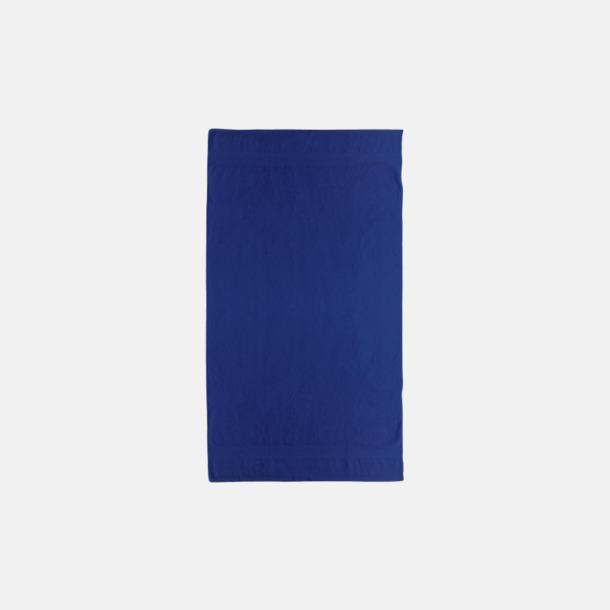 Marinblå Billiga handdukar med egen logga