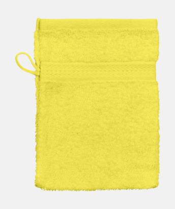 Bright Gul (Handske) Billiga handdukar med egen logga