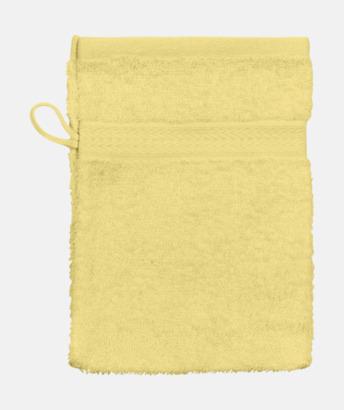 Gul (Handske) Billiga handdukar med egen logga