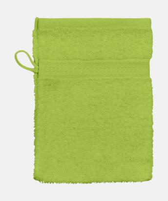 Bright Grön (Handske) Billiga handdukar med egen logga