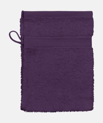 Aubergine (Handske) Billiga handdukar med egen logga