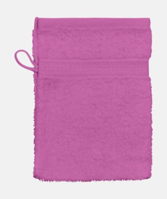 Rosa (Handske) Billiga handdukar med egen logga