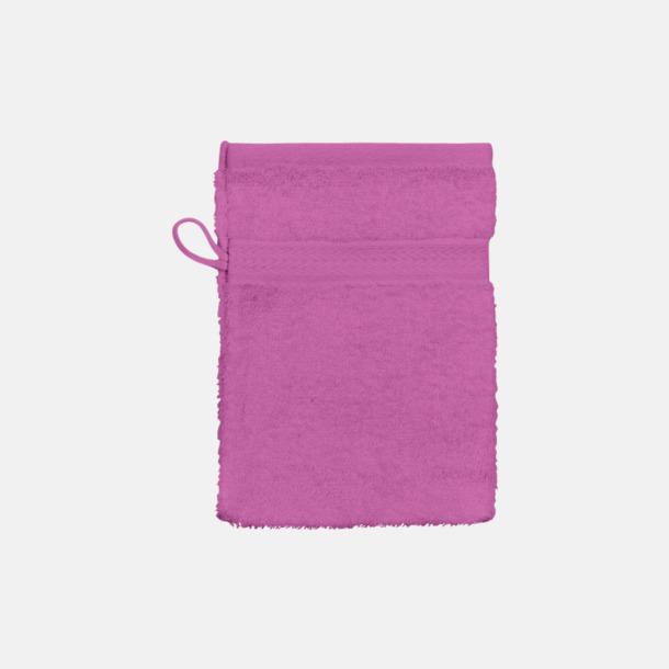 Fuchsia (handske) Billiga handdukar med egen logga