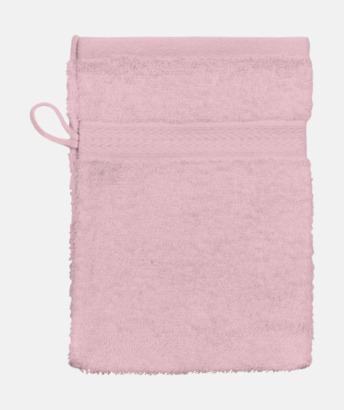 Ljusrosa (Handske) Billiga handdukar med egen logga