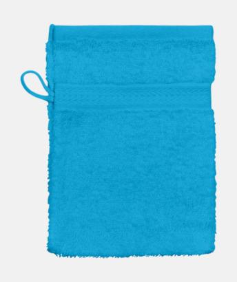 Aqua (Handske) Billiga handdukar med egen logga