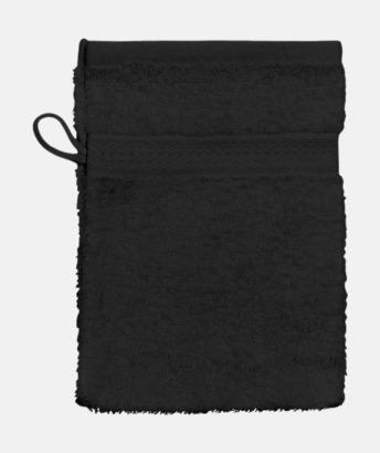 Svart (Handske) Billiga handdukar med egen logga