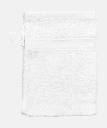 Vit (Handske) Billiga handdukar med egen logga
