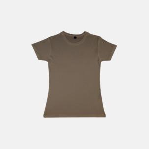 Eko t-shirts i viskos- & bomullsblandning med reklamtryck