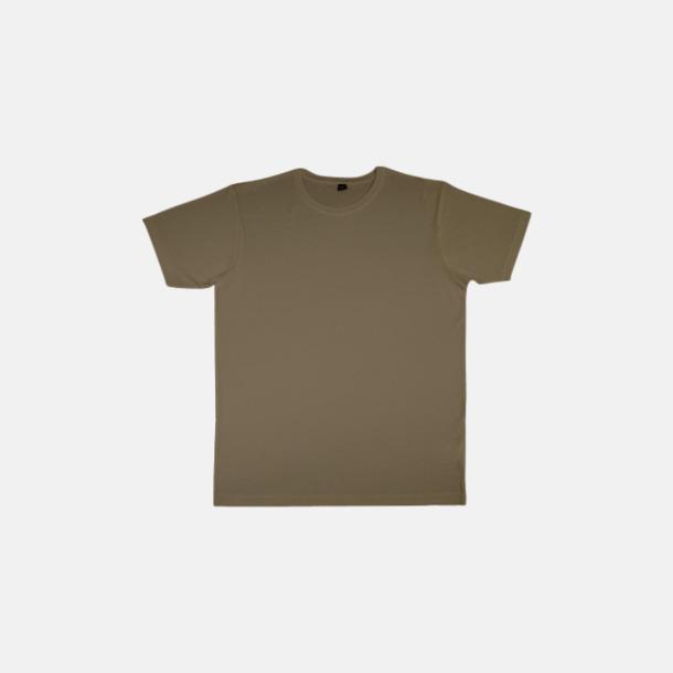 Walnut (herr) Eko t-shirts i viskos- & bomullsblandning med reklamtryck
