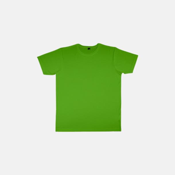 Tropical Green (herr) Eko t-shirts i viskos- & bomullsblandning med reklamtryck