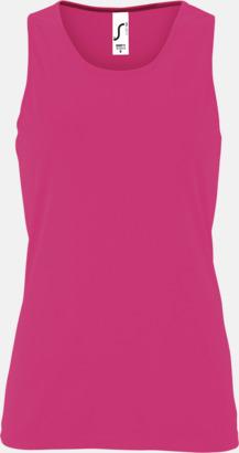 Neon Pink (dam) Funktionslinnen med reklamtryck