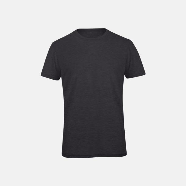 Heather Dark Grey (herr) Triblend t-shirts i dam & herr - med reklamtryck