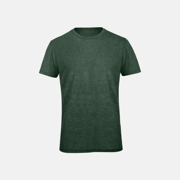 Heather Forest (herr) Triblend t-shirts i dam & herr - med reklamtryck