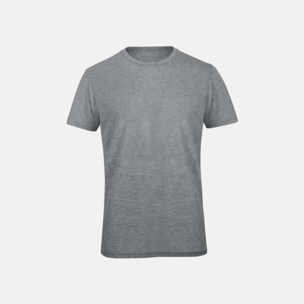 Heather Light Grey (herr) Triblend t-shirts i dam & herr - med reklamtryck