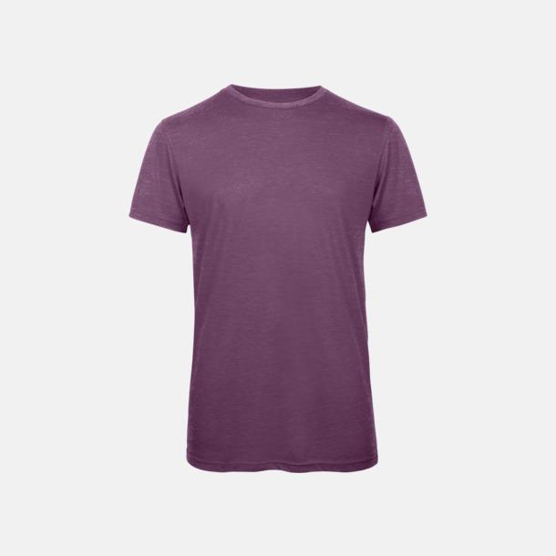 Heather Purple (herr) Triblend t-shirts i dam & herr - med reklamtryck