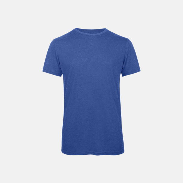Heather Royal Blue (herr) Triblend t-shirts i dam & herr - med reklamtryck
