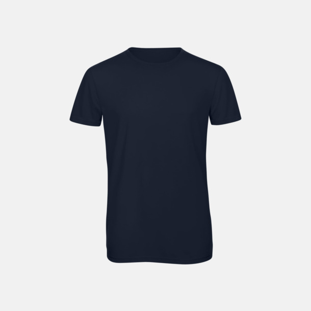 Marinblå (herr) Triblend t-shirts i dam & herr - med reklamtryck