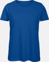 Neutrala eko t-shirts med reklamtryck