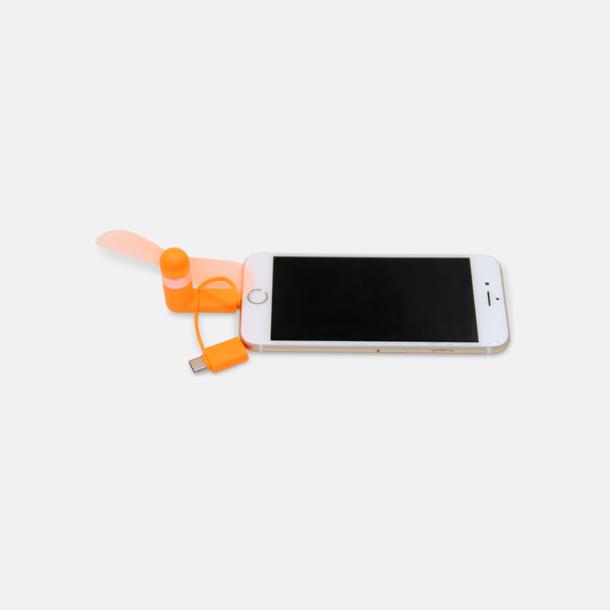 Mobilfläkt för smartphones med egen logga