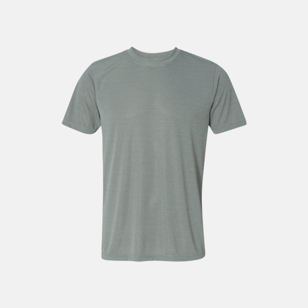 Athletic Heather (unisex) Kortärmade funktions t-shirts med reklamtryck