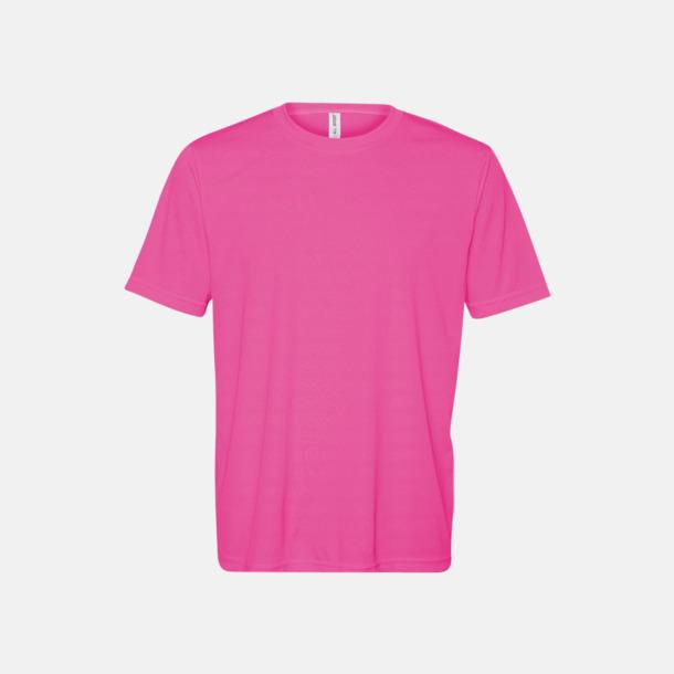 Sport Charity Pink (unisex) Kortärmade funktions t-shirts med reklamtryck