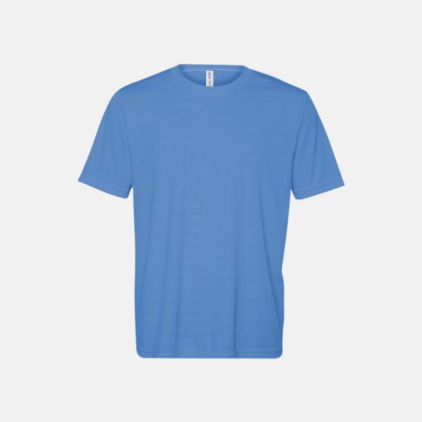 Sport Light Blue (unisex) Kortärmade funktions t-shirts med reklamtryck