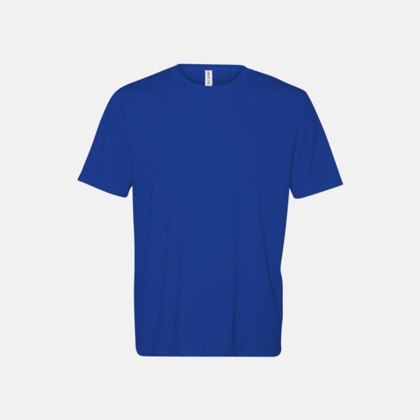 Sport Royal (herr) Kortärmade funktions t-shirts med reklamtryck