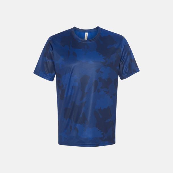 Sport Royal Laser Camo (unisex) Kortärmade funktions t-shirts med reklamtryck