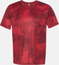 Kortärmade funktions t-shirts med reklamtryck