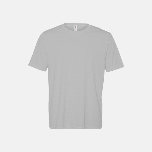 Sport Silver (unisex) Kortärmade funktions t-shirts med reklamtryck
