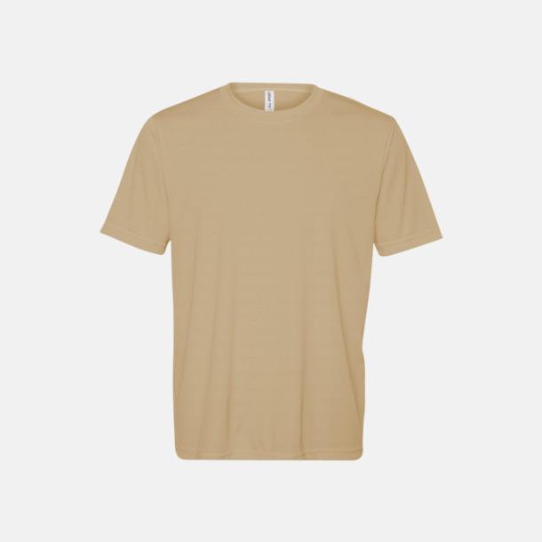 Sport Vegas Gold (unisex) Kortärmade funktions t-shirts med reklamtryck