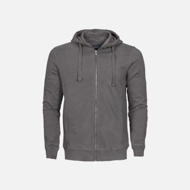 Faded Grey (herr) Exklusiva huvtröjor med reklamtryck