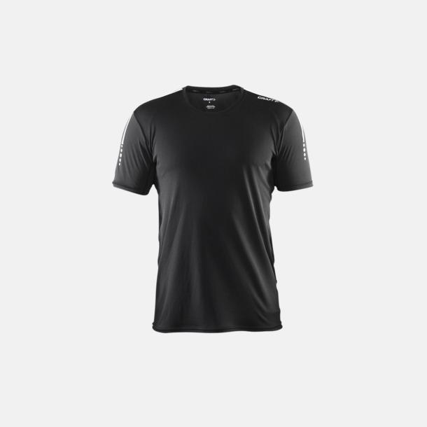 Svart (herr) Funktions t-shirt från Craft med eget reklamtryck