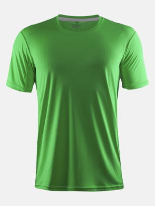 Craft Green (herr) Funktions t-shirt från Craft med eget reklamtryck