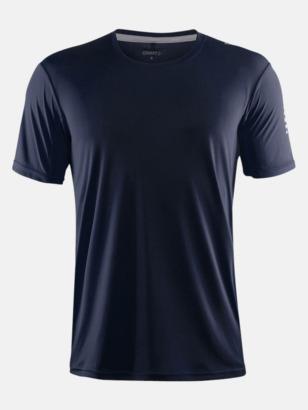 Navy (herr) Funktions t-shirt från Craft med eget reklamtryck