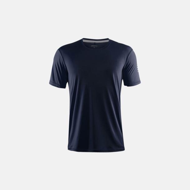 Marinblå (herr) Funktions t-shirt från Craft med eget reklamtryck