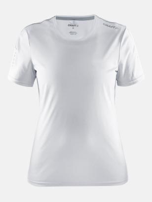 Vit (dam) Funktions t-shirt från Craft med eget reklamtryck