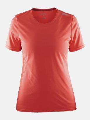 Shock/Tempo (dam) Funktions t-shirt från Craft med eget reklamtryck
