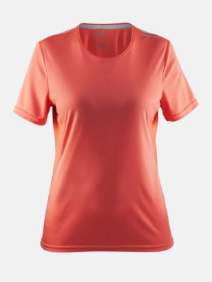 Calypso/Platinum (dam) Funktions t-shirt från Craft med eget reklamtryck