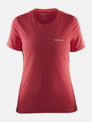 Tempo/Shock (dam) Funktions t-shirt från Craft med eget reklamtryck