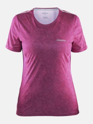 Smoothie/Smoothie (dam) Funktions t-shirt från Craft med eget reklamtryck