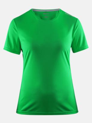 Craft Green (dam) Funktions t-shirt från Craft med eget reklamtryck