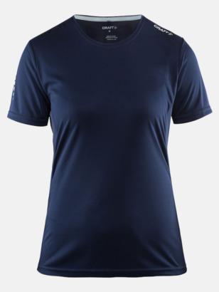 Navy (dam) Funktions t-shirt från Craft med eget reklamtryck
