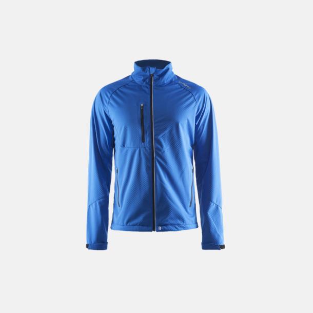 Sweden Blue (herr) Bormio soft shell jacka från Craft med eget reklamtryck