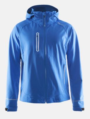 Sweden Blue (herr) Craft softshell jackor med eget reklamtryck