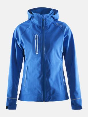 Sweden Blue (dam) Craft softshell jackor med eget reklamtryck