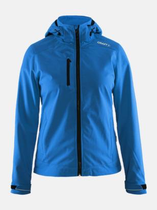 Sweden Blue (dam) Softshell jackor från Craft med eget reklamtryck