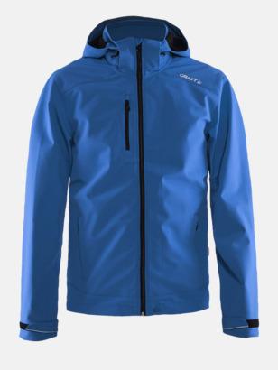 Sweden Blue (herr) Softshell jackor från Craft med eget reklamtryck