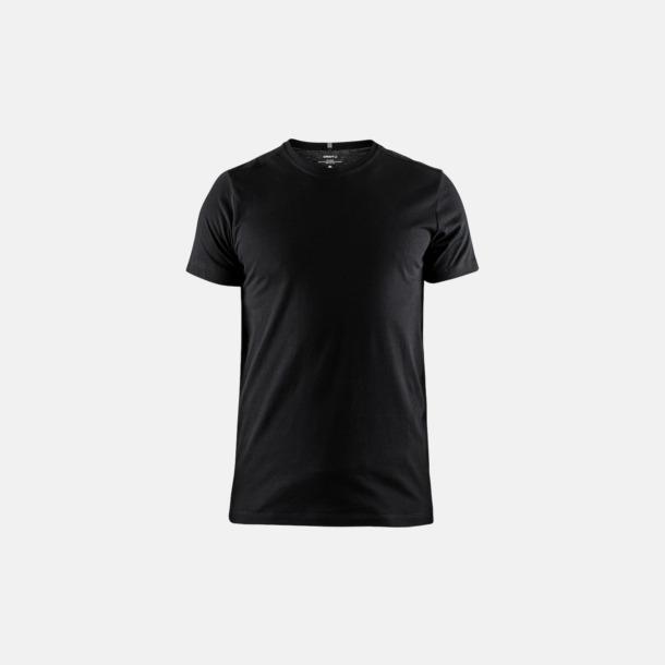 Svart (herr) Funktionell t-shirt från Craft med eget reklamtryck