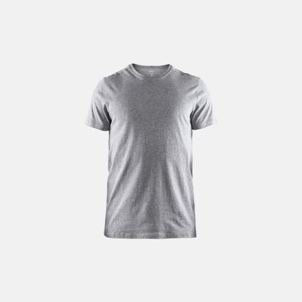 Grey Melange (herr) Funktionell t-shirt från Craft med eget reklamtryck